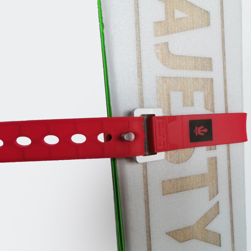 Tech Skistrap Red 46cm
