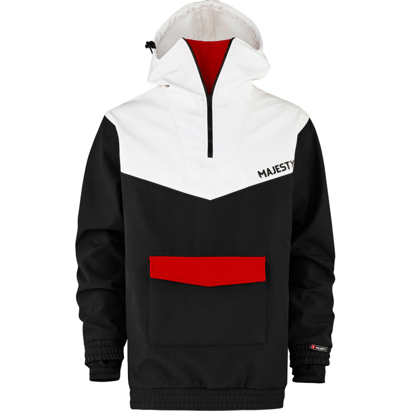 Anorak Black/White